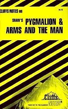 Cliffs notes PYGMALION & ARMS AND THE MAN George B Shaw