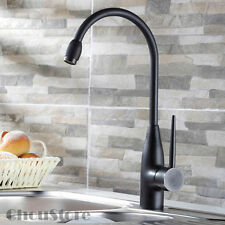 Simple Modern Design Oil Rubbed Bronze Brass Kitchen Sink Faucet Mixer Tap 113O