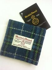 Harris tweed tartan wallet made in Scotland mens gift