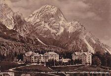 # CORTINA: MAJESTIC HOTEL MIRAMONTI - 1956