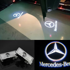 2LED Logo door welcome lamp laser Projector light For Mercedes-Benz CLS CLA C207