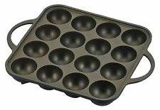 Japanese Takoyaki Grill Pan Maker 16 Cast