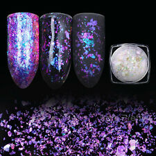 BORN PRETTY Chameleon Nail Sequins Paillette Transparent Nail Art Decoration