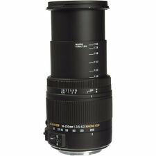 SIGMA 18-250mm F3.5-6.3 DC MACRO OS HSM LENS FOR SONY 'A' MOUNT & BONUS 32GB SD