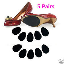 Enduring 5 Pairs High Heels Non-slip Mat Silicone Rubber Forefoot Pads AB