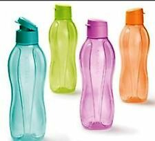 Tupperware Aquasafe Fliptop Water Bottle 1 Litre -Childrens Safe & Secure X 1Pcs