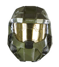 Adult HALO 3 Master Chief 2 Piece Vacuform Helmet Mask