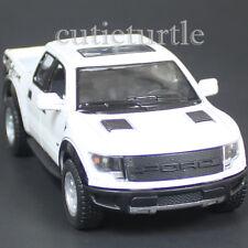 Kinsmart Ford 2013 F-150 SVT Raptor Supercrew Pick Up Truck 1:46 Diecast White