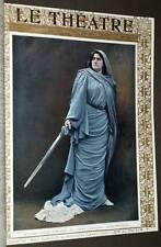 la Revue LE THEATRE Septieme année deuxieme semestre 1904, par GOUPIL