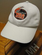 """SOLO CAMARON SHRIMP ONLY"" HAT. FROM COST RICA WHITE. SLIDE CLASP ADJUSTABLE!!!"