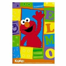 ELMO SESAME STREET BIRTHDAY PARTY LOOT/LOLLY BAGS PK 8 NEW!