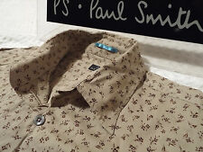 """PAUL SMITH Mens Shirt �� Size M (CHEST 40"""") �� RRP £95+ �� FLORAL LIBERTY STYLE"""