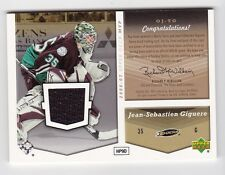 2006-07 NHL Upper Deck MVP Jerseys # OJ-TG Turco and Giguere One on One Dual