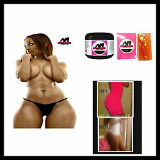 """Get Thick"" QUICK BIGGER breast butt hips, thigh enlargement/ Cream + Soap"