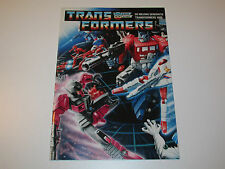 TRANSFORMERS G1  CATALOG FOLDER 'DE NIEUWE GENERATIE' 1988 HOLLAND
