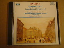 CD NAXOS / DVORAK - SYMPHONIES No.2, LEGENDS Op.59 & Nos.6-10