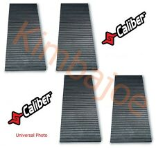 "Four (4) Caliber Snowmobile Trailer Trax Mats 18"" W x 72"" L x 1/2"" Thick #13211"