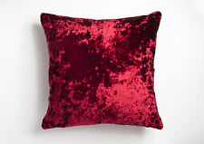 Moulin Luxury  Crushed Velvet 17in x 17in Reversible Cushion Covers