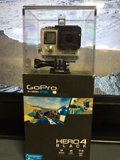 New GO PRO HERO 4 Black Action Sports Camera LCD CHDMX-401 12MP HD 1080P