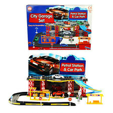 A to Z City Garage Set Petrol Station And Car Park Kids Children Toy Fun Age 3+