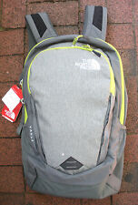 THE NORTH FACE VAULT BACKPACK -DAYPACK- LAPTOP SLEEVE-#CHJ0-LONDON FOG H- GREEN