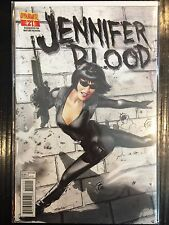Jennifer Blood #21 VF+ 1 º Dibujo Dynamite Comics