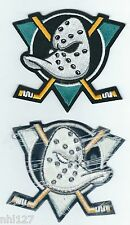 ANAHEIM MIGHTY DUCKS Team Logo Licensed Sew On Jersey Patch NHL All Star Game