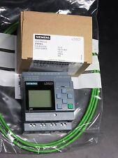 Siemens LOGO Modul 6ED1 052-1MD00-0BA8  12/24RCE mit Display 8 E  4 Relais FS.04