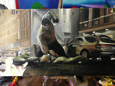 OIL PAINTING 100% HAND MADE INCREDIBLE HULK MARVEL HIGH QUALITY CANVAS