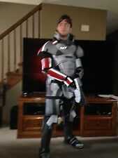Handmade Mass Effect 2 Commander Shepard N7 Armor and Pistol