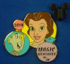 Princess Belle & Chip Beauty and the Beast Magic Measures Disney Pin  #102965