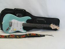 SQUIRE BY FENDER BULLET STRAT SQUIRE STRATOCASTER SEA FOAM GREEN W NICE GIG BAG