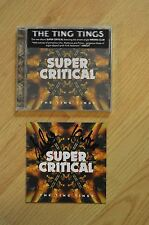 THE TING TINGS ~ Super Critical Autographed CD  Katie White Jules De Martino