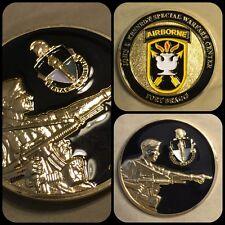 FORT BRAGG, NC John F Kennedy JFK Special Warfare Center Airborne Challenge Coin