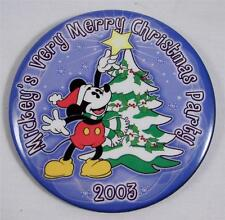 Disney Mickey's Very Merry Christmas Party 2003 Pin Mickey Mouse Star on Tree