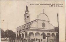 MOTTA DI LIVENZA - VEDUTA ESTERNA DELLA BASILICA DEI MIRACOLI (TREVISO) 1929