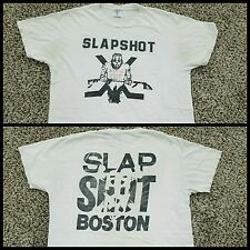 Slapshot Meat Is Red OG shirt Large Agnostic Front Cro Mags Madball NYHC BHC XXX