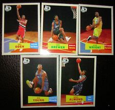 Corey Brewer,Nick Young,Greg Oden 07 Topps RC lot
