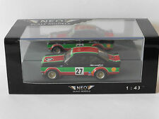 FORD ESCORT RS 1800 GR2 #27 CASTROL ETCC 1976 ZAKSPEED NEO 45230 1/43 GROUP 2