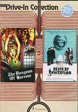 Dungeon of Harrow & Death by Invitation DVD Vinegar Syndrome Drive In Collection
