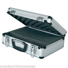 Chord Lockable Flight Case for Microphone + DJ Band Equipment +Customisable Foam