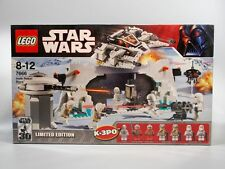 LEGO 7666 Star Wars Hoth Rebel Base [Ship to Worldwide] *BRAND NEW & SEALED*