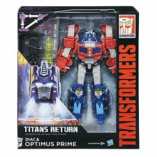 Transformers Titans Return Voyager Optimus Prime - New Instock