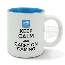 KEEP CALM carry on GAMING mug cup computer video games xbox 360 playstation game