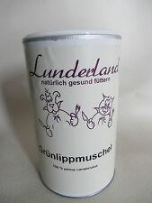 (1kg/92,00€) 500,o Lunderland Grünlippmuschel Pulver + Löffel