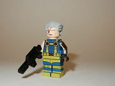 Custom Machine Printed Lego Compatible Marvel Universe Cable