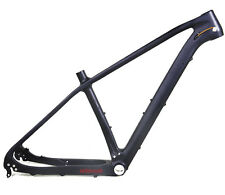 "20.5"" 27.5"" Carbon Bicycle Frame BB92 Mountain Clamp Black Matt Quick release"
