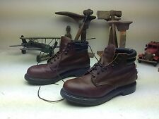 STEEL TOE 2245  BROWN RED WING MADE IN USA ENGINEER PACKER BOOTS SIZE 10 EEE