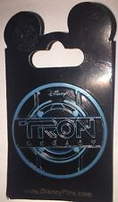 Disney Pin Tron Legacy Logo Disc On Card Wdw Dlr