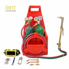 Professional Portable Oxygen Acetylene Oxy Welding Cutting Weld Torch DOT Tank